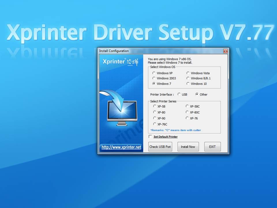 Download driver printer thermal panda - download4software