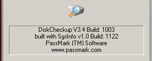 DiskCheckup software