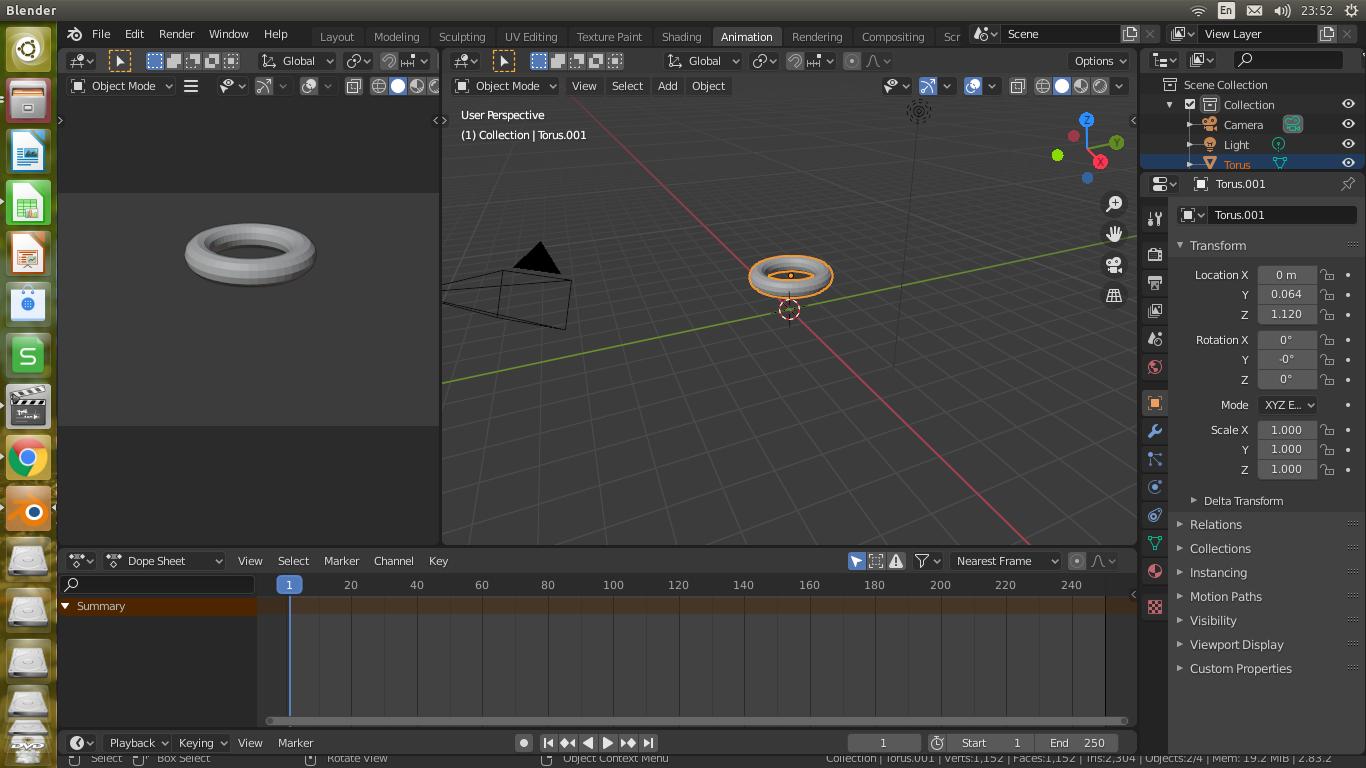 Free Video Animation Blender